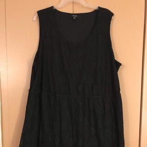Apt. 9 black lace dress 2X